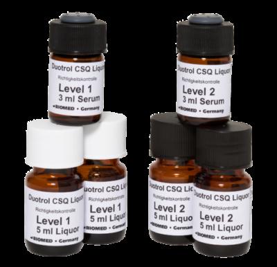 Liquorkontrolle von BIOMED Labordiagnostik in drei Leveln