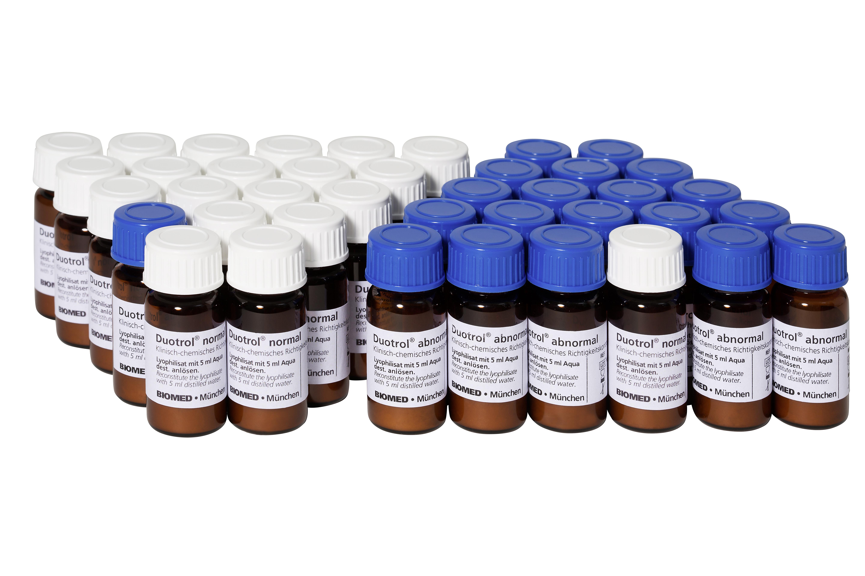 Duotrol normal und abnormal von BIOMED Labordiagnostik