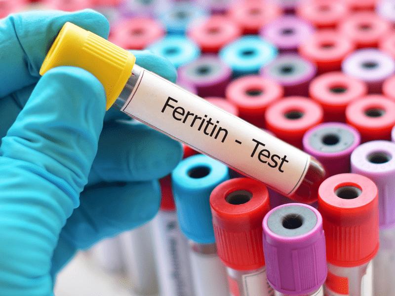 Erhöhtes Ferritin bei COVID-19 Patienten