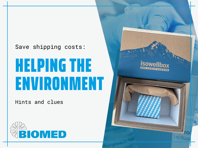How to save shipping costs and protect the environment